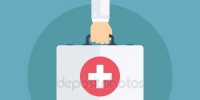 depositphotos 110472406 stock illustration doctor hand and first aid - Областная больница